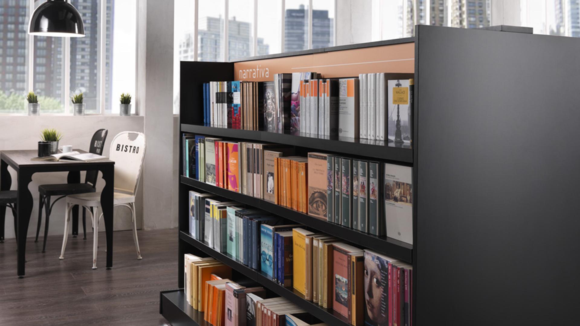 Arredamento negozi libreria arken for Arredamento negozi